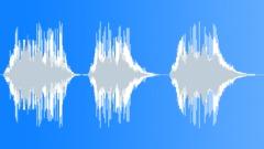 Robot voice: Warning, Warning, Warning Sound Effect