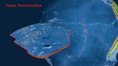 Juan Fernandez tectonics featured. Physical Stock Footage