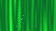 Animated dynamic background with music notes and marks Stock Footage