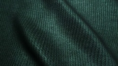 Dark green high quality corduroy texture,moving waves,Seamless loop Stock Footage