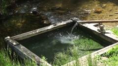 Thermal springs Stock Footage