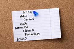 Safety shiEld Control cloUd passwoRd fIrewall Technology prIvacy SECURITY -.. Kuvituskuvat