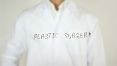 Plastic Surgery, Written on Glass Stock Footage