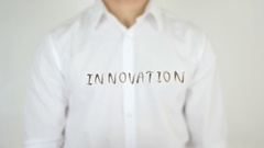 Innovation, Written on Glass Stock Footage