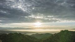 Valley Morning in Los Angeles California Stock Footage