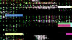 Streaming video malfunction - Data Glitch 016 Stock Footage Stock Footage