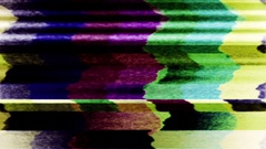 TV color bars test card malfunction - TV Noise 1065 HD Stock Video Stock Footage