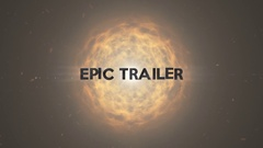 Epic Trailer Stock After Effects