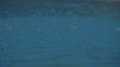 Small Splashes Intensifying - 29,97FPS NTSC Stock Footage