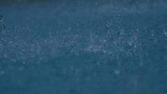Wild Spatters in Water - 29,97FPS NTSC Stock Footage