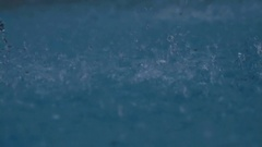 Wild Spatters in Water - 25FPS PAL Stock Footage