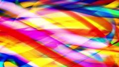 Multi-Colored Glowing Paint Stroke Background Loop Stock Footage