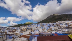 Chefchaouen Morocco Timelapse Stock Footage