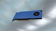 High performance desktop GPU Stock Footage