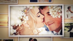 3D Wedding Photo Slideshow - Love Story Stock After Effects