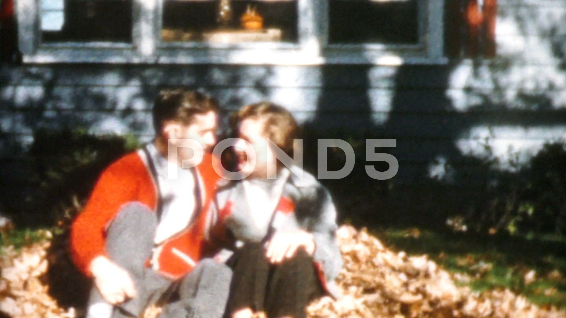 Young Couple In Love Spending Time Together-1958 Vintage 8mm Film - Fusion Footage ▶0:30